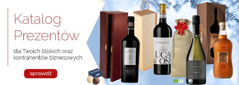 Katalog prezentów z winem 2020
