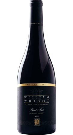William Wright Pinot Noir Reserve 2017